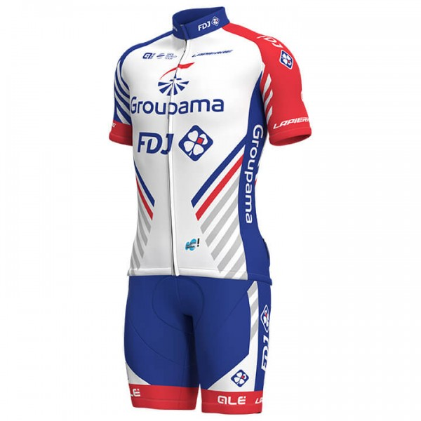 2019 GROUPAMA-FDJ Set (2 pieces) - Professional Cycling Team