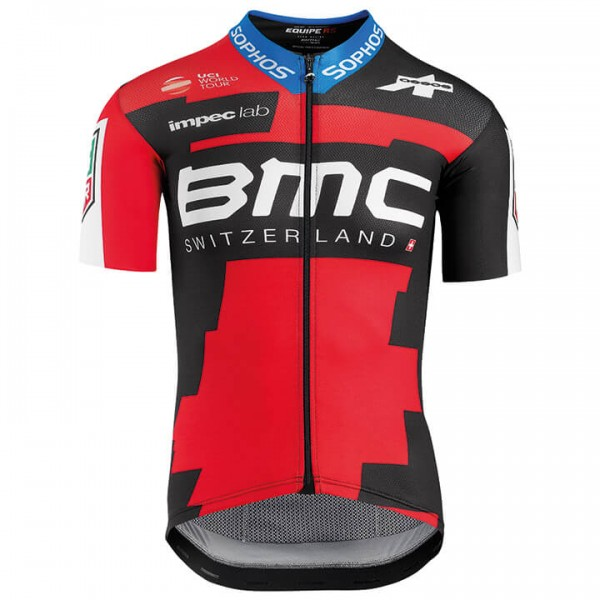 2018 BMC RACING TEAM PRO Short Sleeve Jersey - Professional Cycling Team