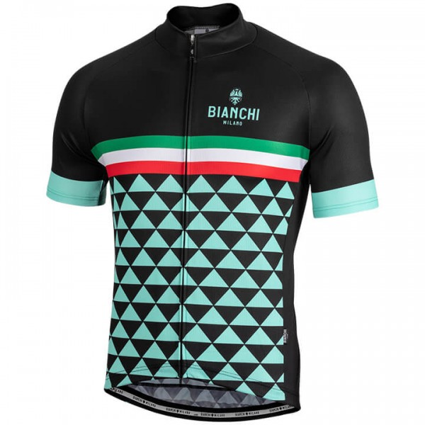 BIANCHI MILANO Codigoro Short Sleeve Jersey black For Men