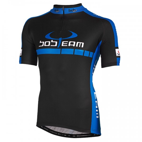 BOBTEAM COLORS Short Sleeve Jersey black-blue black - blue For Men