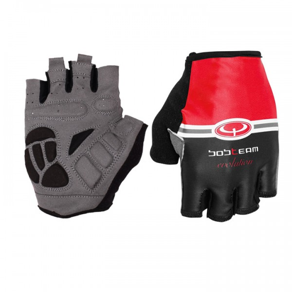 BOBTEAM EVOLUTION Cycling Gloves red