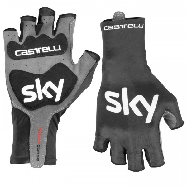 2019 Team Sky Aero Race Cycling Gloves - Professional Cycling Team