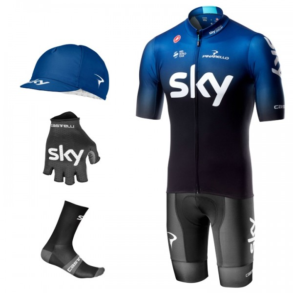 2019 TEAM SKY Squadra Maxi-Set (5 pieces) - Professional Cycling Team