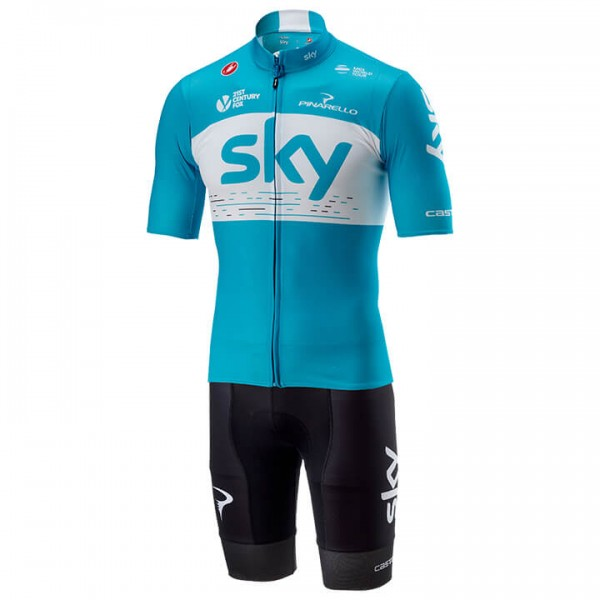 2018 TEAM SKY Training Set (2 pieces) - Professional Cycling Team