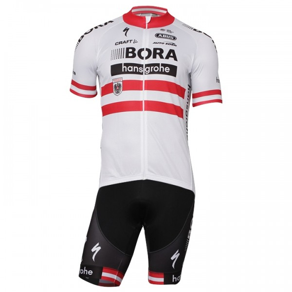 BORA-hansgrohe Austrian Champion 17-18 Set (2 pieces) - Professional Cycling Team