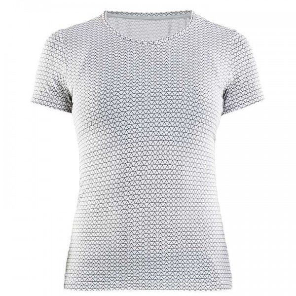 CRAFT Essential Base Layer white - black For Women
