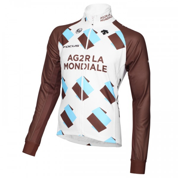 2015 AG2R LA MONDIALE Thermal Jacket - Professional Cycling Team