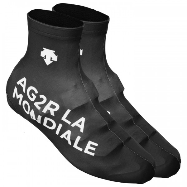 2015 AG2R LA MONDIALE Time Trial Shoe Covers - Professional Cycling Team