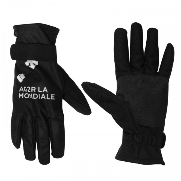 2015 AG2R LA MONDIALE Winter Cycling Gloves - Professional Cycling Team