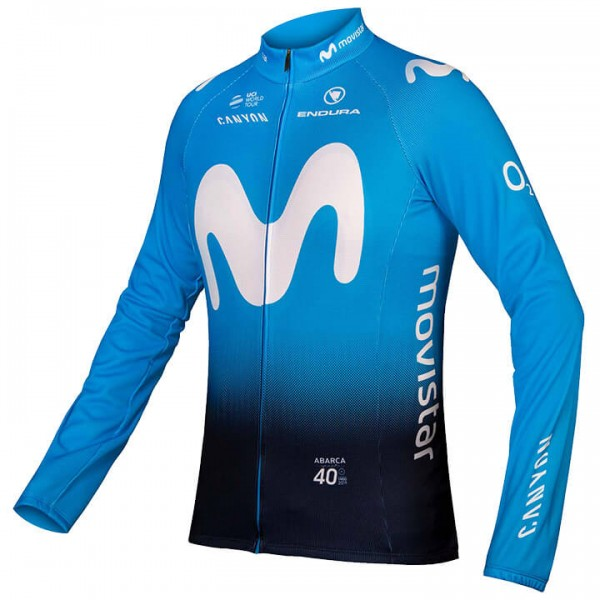 2019 MOVISTAR Team Long Jersey - Professional Cycling Team