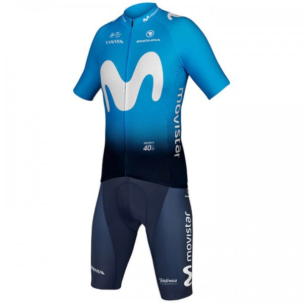 2019 MOVISTAR TEAM Set (2 pieces) - Professional Cycling Team