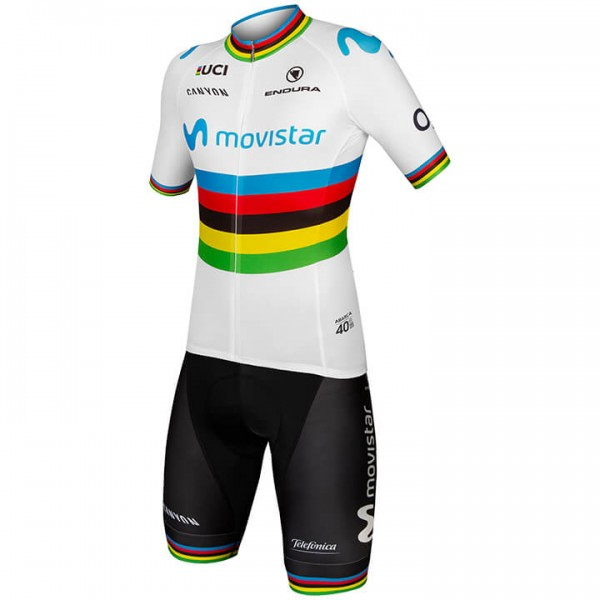 2019 MOVISTAR TEAM World Champion Set (2 pieces) - Professional Cycling Team