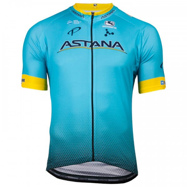 2018 ASTANA PRO TEAM Short Sleeve Jersey - Professional Cycling Team