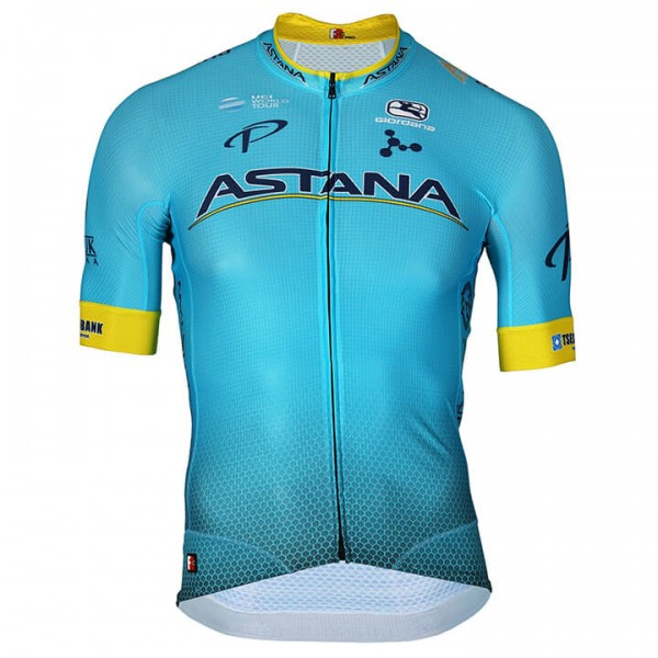 2018 ASTANA PRO TEAM FCR Short Sleeve Jersey - Professional Cycling Team