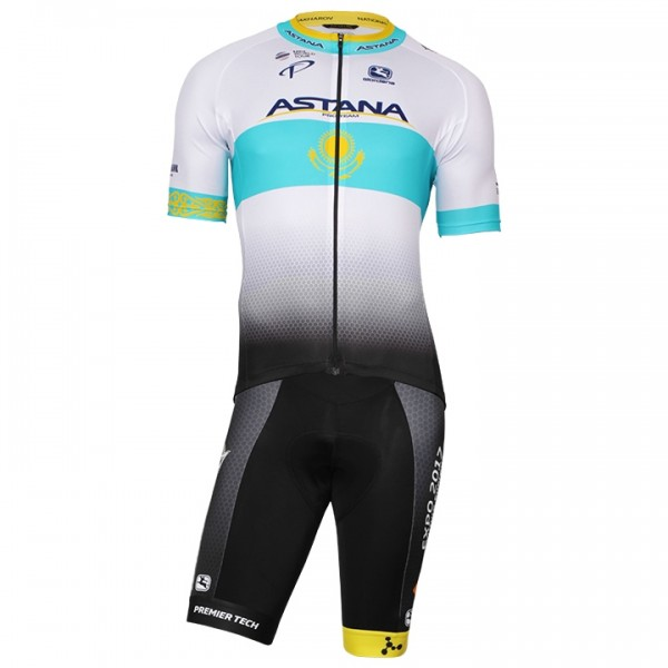 2017-2018 ASTANA PRO TEAM Kazakh Champion Set (2 pieces) - Professional Cycling Team