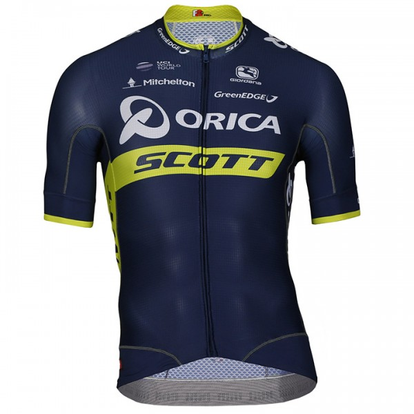 2017 ORICA-SCOTT Short Sleeve Jersey FRC - Professional Cycling Team