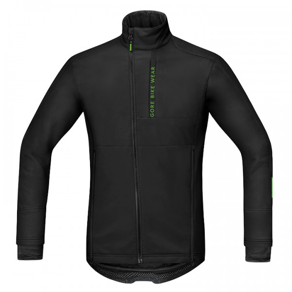 GORE Power Trail WS SO Cycling Jacket, black czarna For Men