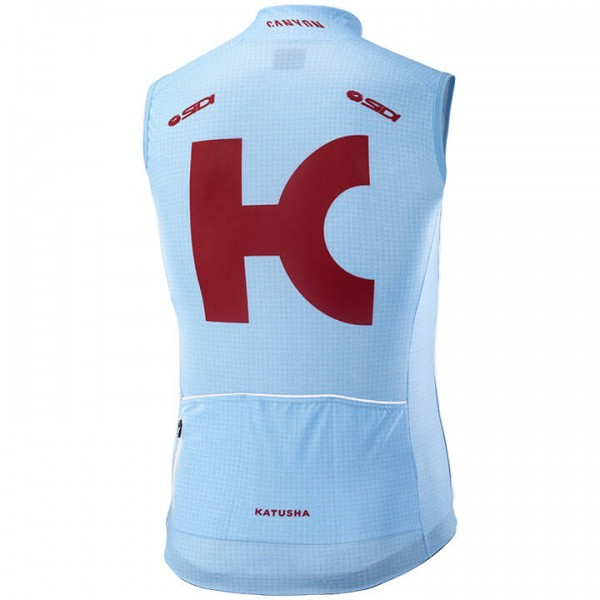 2019 TEAM KATUSHA ALPECIN Wind Vest - Professional Cycling Team