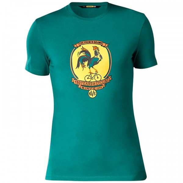 MAVIC French Brand T-Shirt green For Men