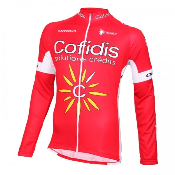 2016 COFIDIS Long Sleeve Jersey - Professional Cycling Team