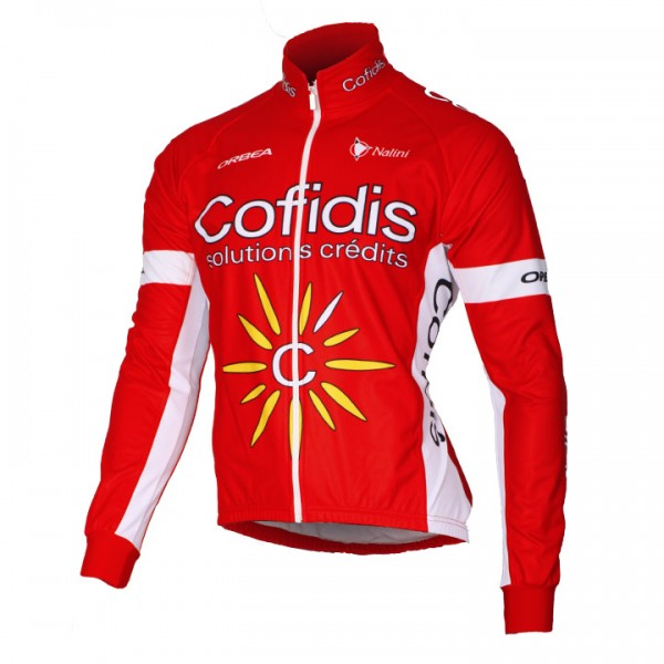 2016 COFIDIS SOLUTION CREDITS Thermal Jacket - Professional Cycling Team