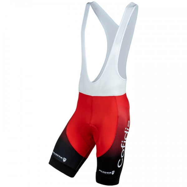 2019 COFIDIS SOLUTIONS CREDITS Bib Shorts - Professional Cycling Team