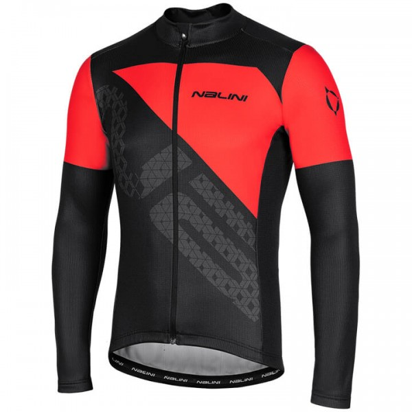 NALINI Fatica 2.0 Long Sleeve Jersey black For Men