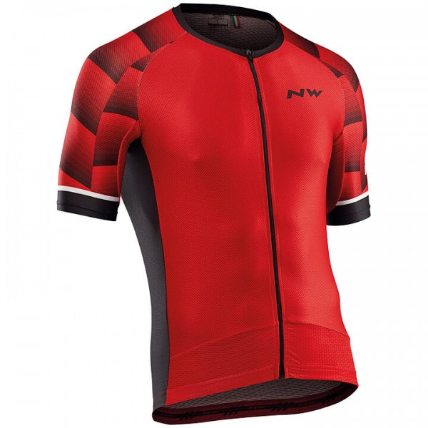NORTHWAVE Storm Air Short Sleeve Jersey red For Men