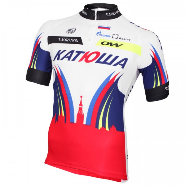 2015 TEAM KATUSHA Short Sleeve Jersey - Professional Cycling Team