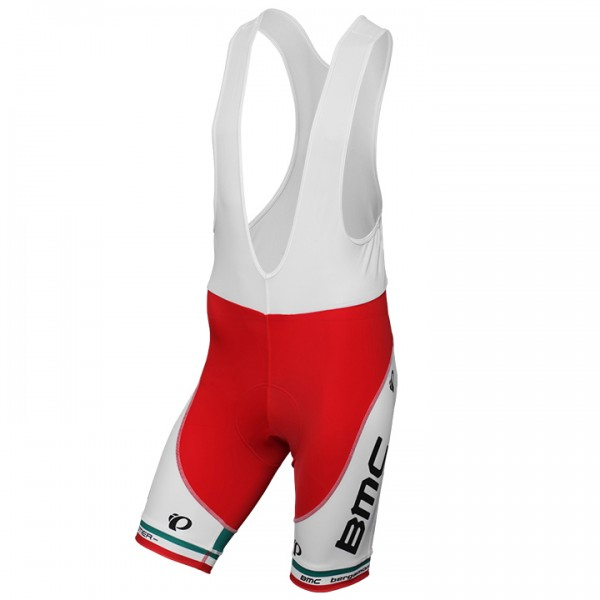 2013-2014 BMC RACING TEAM Proline Bib Shorts Italian Champion - Professional Cycling Team