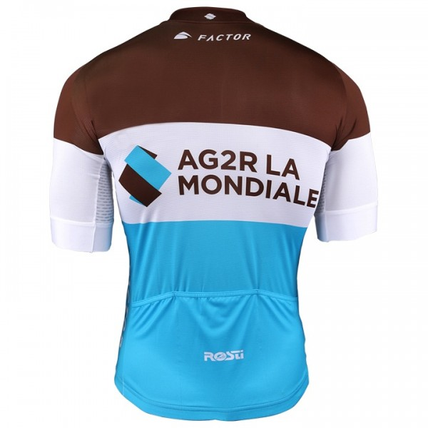 2018 AG2R La Mondiale Short Sleeve Jersey - Professional Cycling Team