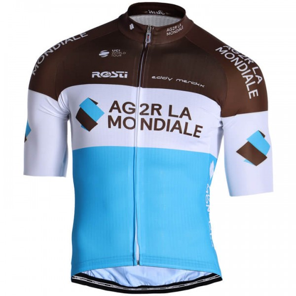2019 AG2R La Mondiale Short Sleeve Jersey - Professional Cycling Team