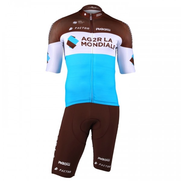2018 AG2R LA MONDIALE Pro Race Set (2 pieces) - Professional Cycling Team
