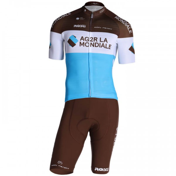 2019 AG2R LA MONDIALE Pro Race Set (2 pieces) - Professional Cycling Team