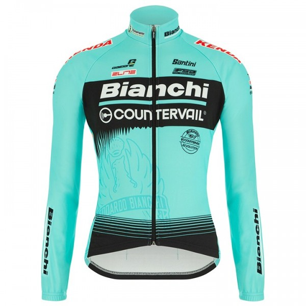 2018 BIANCHI COUNTERVAIL Long Sleeve Jersey - Professional Cycling Team
