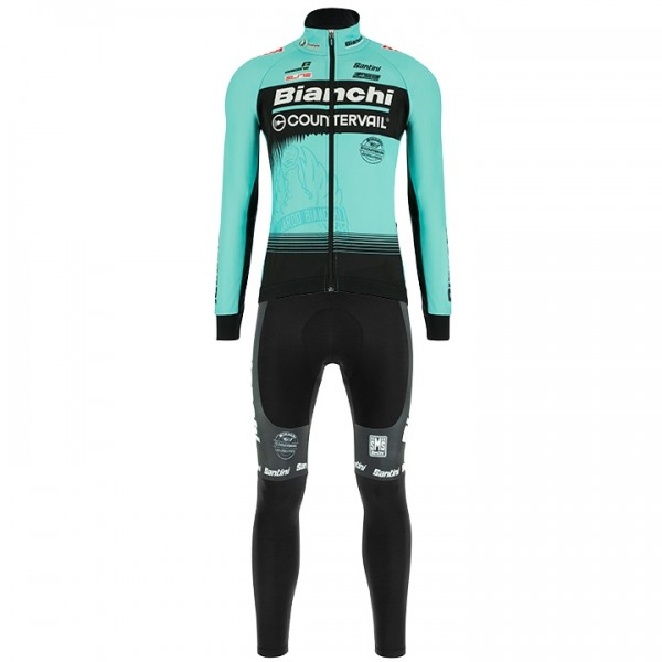 2018 BIANCHI COUNTERVAIL Set (2 pieces) - Professional Cycling Team