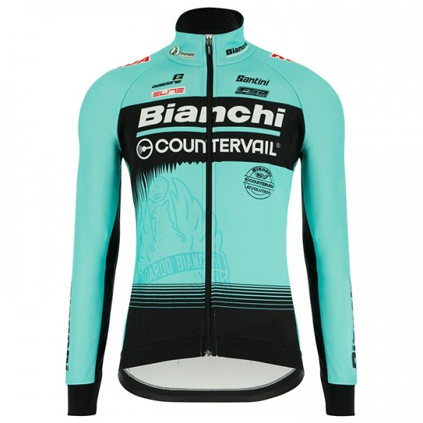 2018 BIANCHI COUNTERVAIL Thermal Jacket - Professional Cycling Team