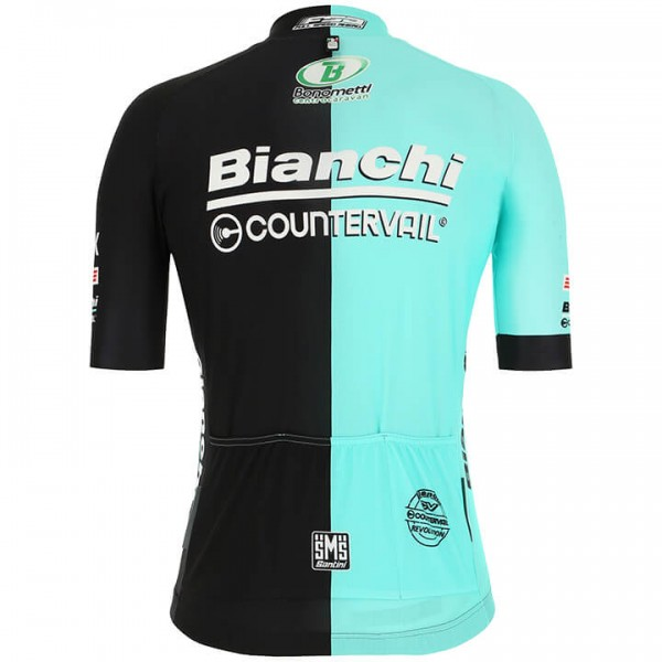 2019 BIANCHI COUNTERVAIL Short Sleeve Jersey - Professional Cycling Team