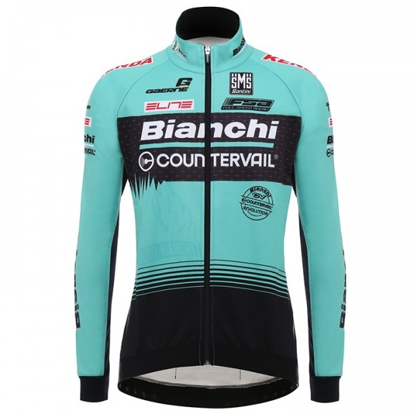 2017 BIANCHI COUNTERVAIL Thermal Jacket - Professional Cycling Team