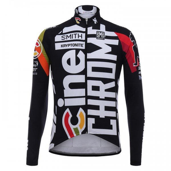 2017 CINELLI CHROME Long Sleeve Jersey - Professional Cycling Team