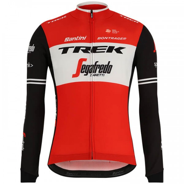 2019 Trek-Segafredo Long Sleeve Jersey - Professional Cycling Team