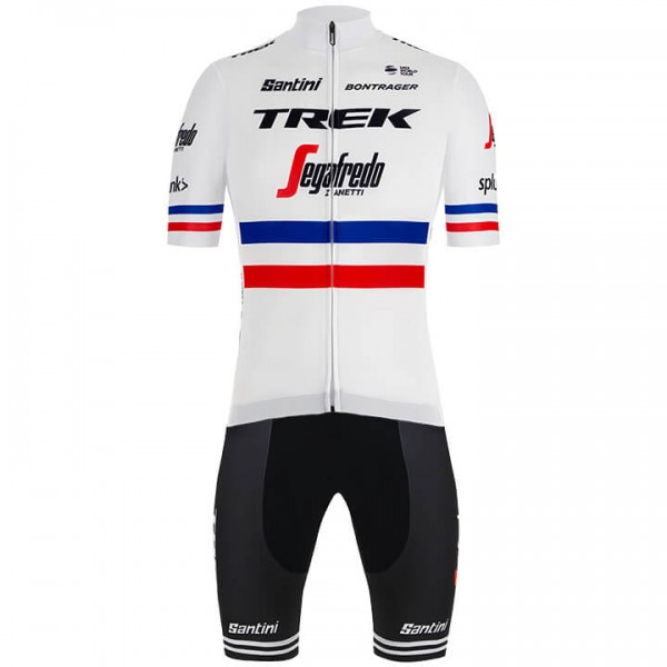 2019 TREK-SEGAFREDO French Champion Set (2 pieces) - Professional Cycling Team