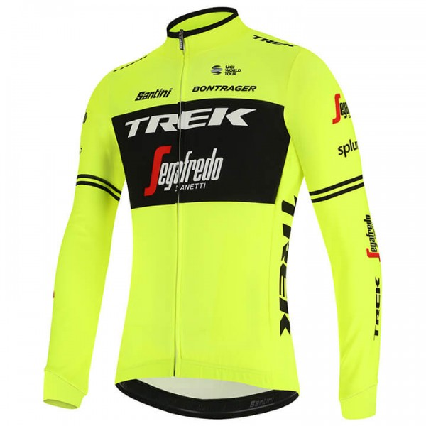2019 Trek-Segafredo Training Long Sleeve Jersey - Professional Cycling Team