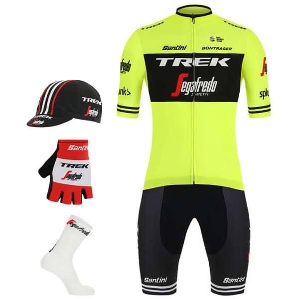 2019 TREK-SEGAFREDO Training Maxi-Set (5 pieces) - Professional Cycling Team