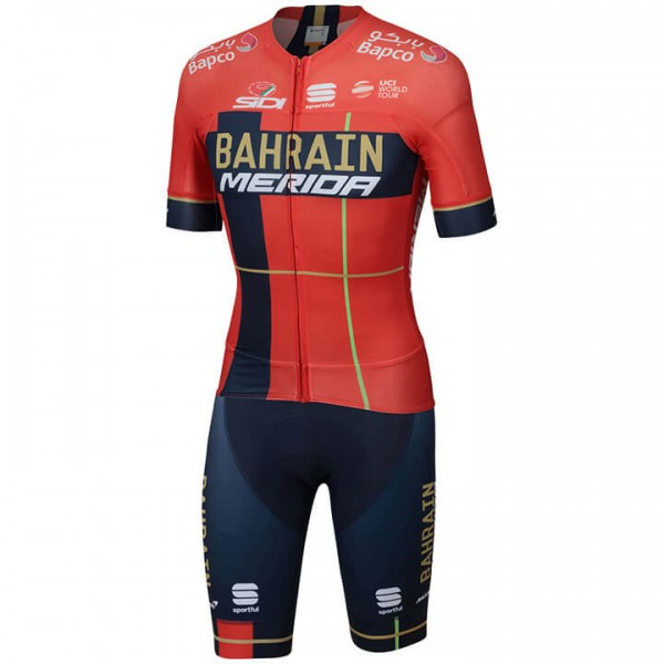2019 BAHRAIN - MERIDA Pro Race Set (2 pieces) - Professional Cycling Team