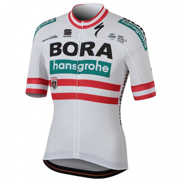 2018 BORA-hansgrohe Austrian Champion Short Sleeve Jersey - Professional Cycling Team