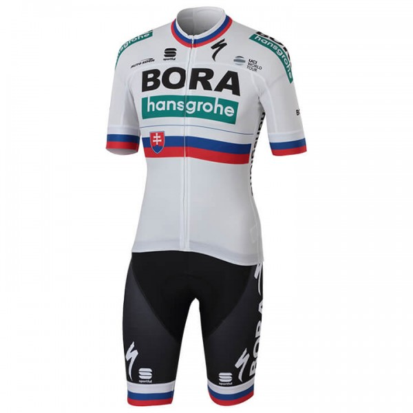 2018 BORA-hansgrohe Slovakian Champion Set (2 pieces) - Professional Cycling Team