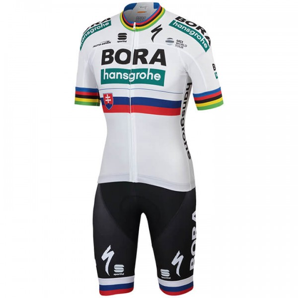 2019 BORA-hansgrohe Slovakian Champion Set (2 pieces) - Professional Cycling Team