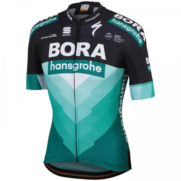 2019 BORA-hansgrohe Team Short Sleeve Jersey - Professional Cycling Team