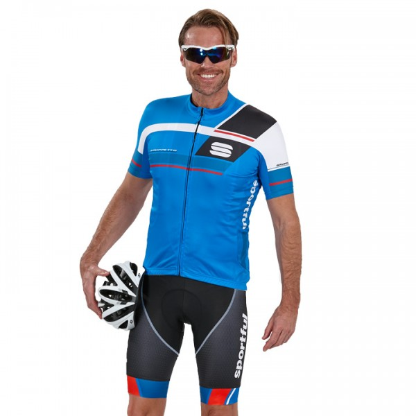 SPORTFUL Gruppetto Pro Team blau-rot Set (2 pieces) For Men